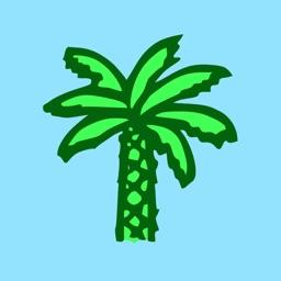Palm Tree Stickers