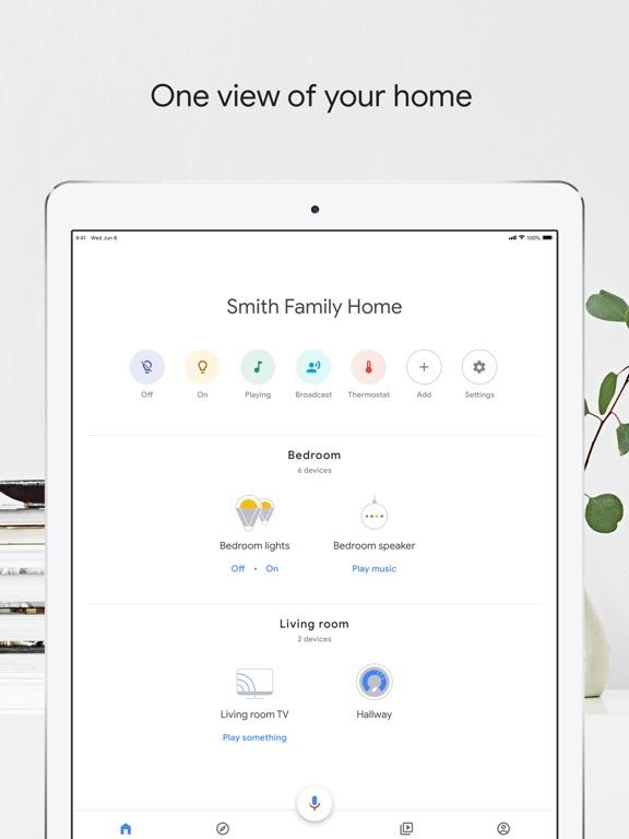 Screenshot #1 for Google Home