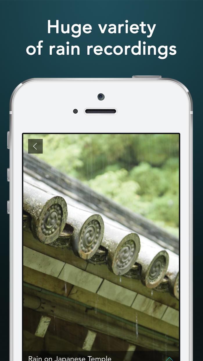 Rain Sounds HQ: sleep aid Screenshot