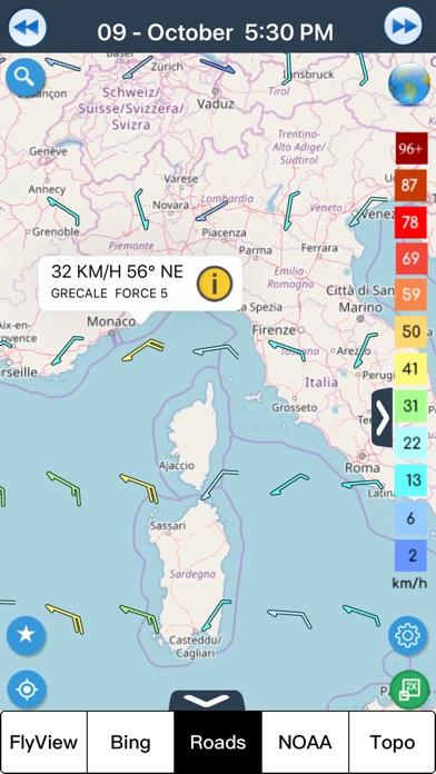 風予報 wind forecast screenshot1