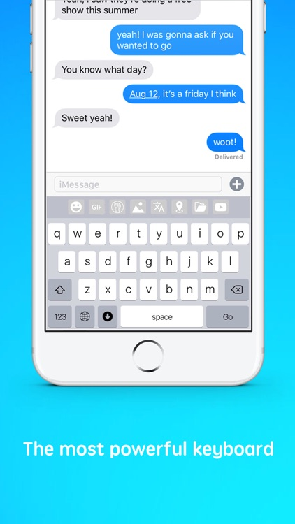 Hyperkey Keyboard - Chat 2.0