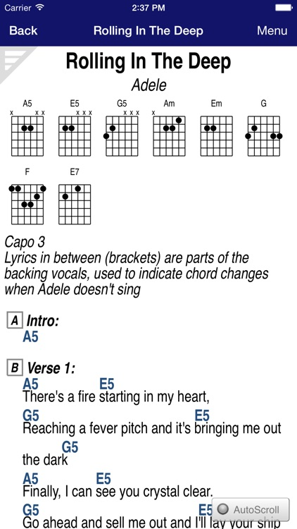 GuitarTapp PRO - Tabs & Chords screenshot-0