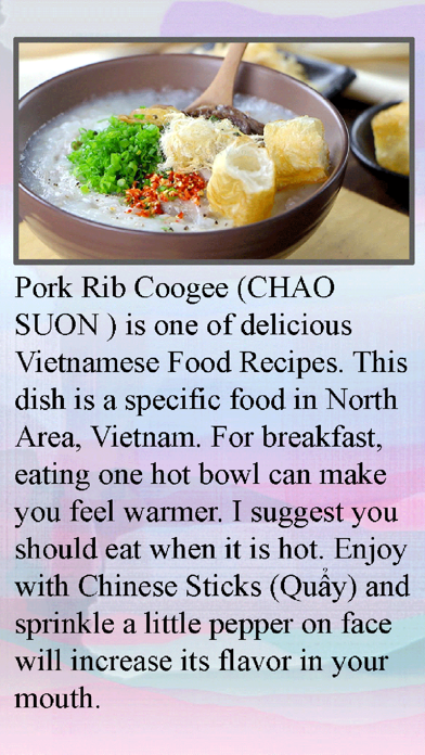 Congee Home Recipe screenshot two