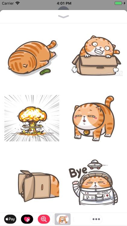 Chubby Cat Stickers Animated screenshot-3