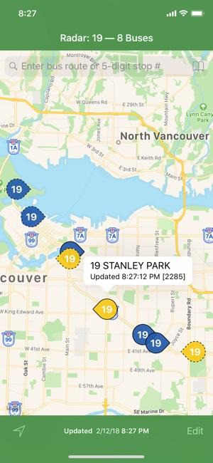 Radar Metro Vancouver Buses on the App Store