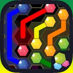 Hexagon Flow Free