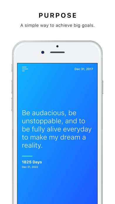 Purpose - Life Goals & Success screenshot one