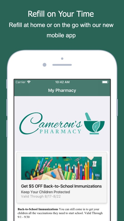 Cameron's Pharmacy screenshot-0
