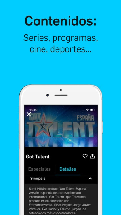 Descargar Mitele - TV a la carta para Android