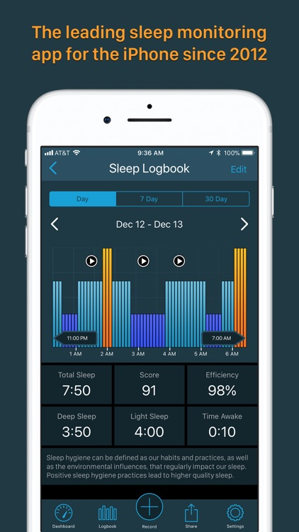 Sleeptracker® 24/7 screenshot-1