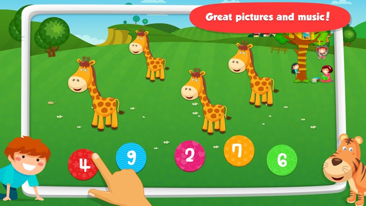 Math Games: Learn 123 Numbers screenshot-3