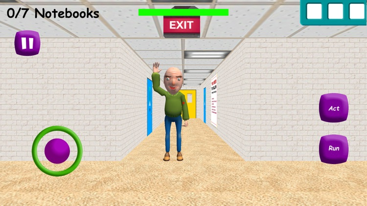 Baldi's Education in School 3D