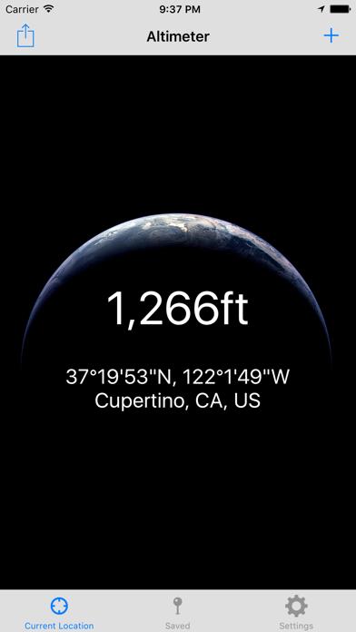 Current Altitude