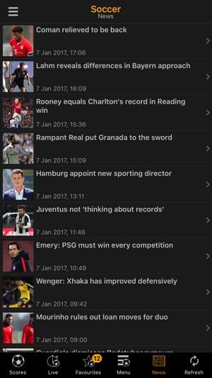 LiveScore Screenshot