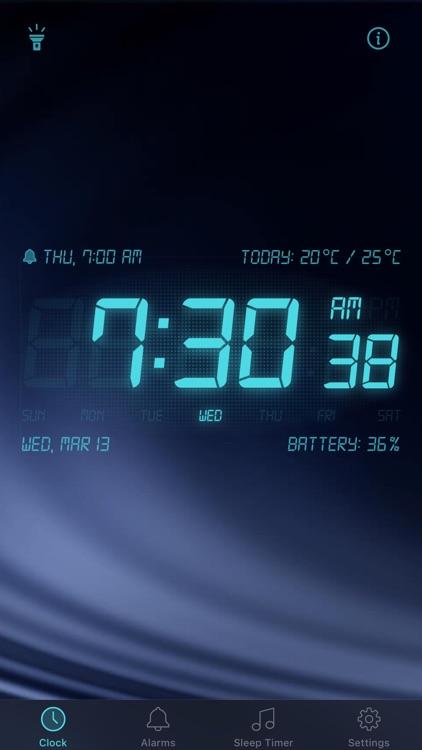 Alarm Clock - My Music Alarms screenshot-3