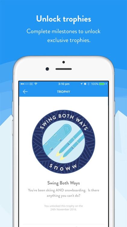 snoww: ski & snowboard tracker screenshot-3