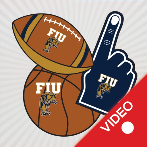 FIU Panthers Animated Selfie Stickers