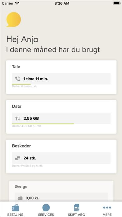 Screenshot for CBB Mobil in Denmark App Store