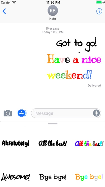 Silly Fonts Stickers screenshot-0