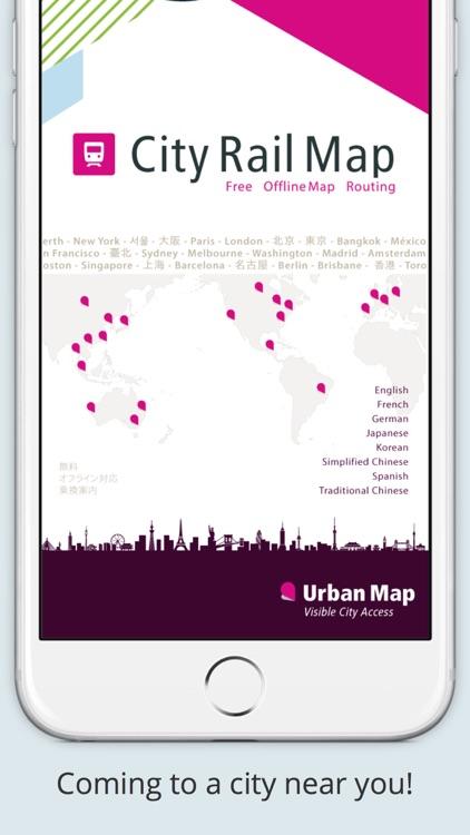 City Rail Map - Travel Offline screenshot-4