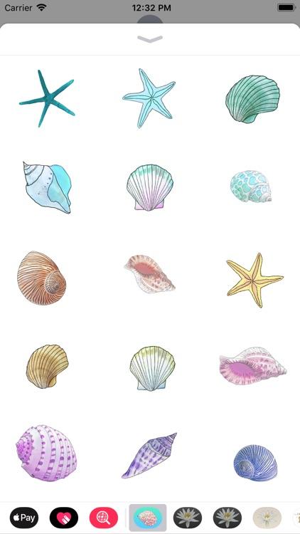 Seashell Sticker Pack