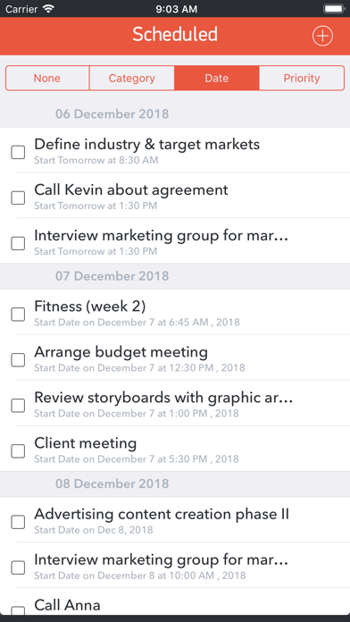 GTD Office: Tasks & Calendar screenshot one
