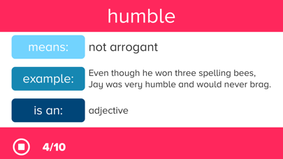 4th Grade Vocabulary Prepのおすすめ画像4