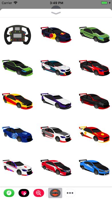 点击获取V8 Bathurst Supercars Stickers