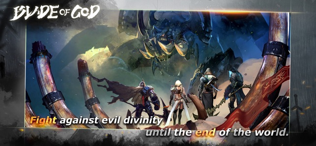 BLADE OF GOD - lite, game for IOS
