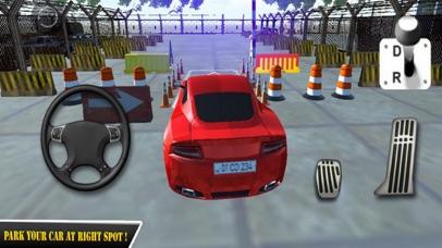 Red Car Parking Skill 18