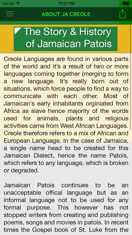 Jamaican Dictionary - JaLingo screenshot-4