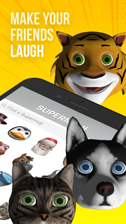 SUPERMOJI - the Emoji App
