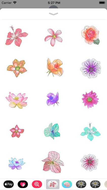 Flower Sticker Pack Vol.1