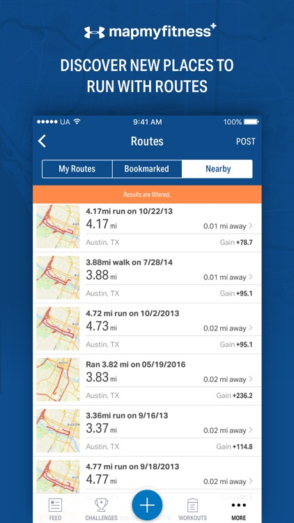 Map My Fitness+ - GPS Workout Trainer & Tracker screenshot-3
