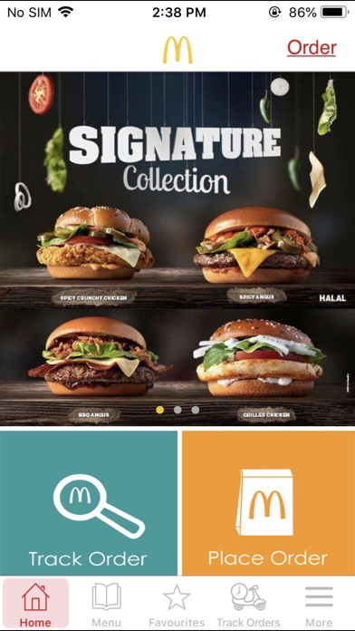 Screenshot for McDelivery Saudi Central, N&E in United Arab Emirates App Store