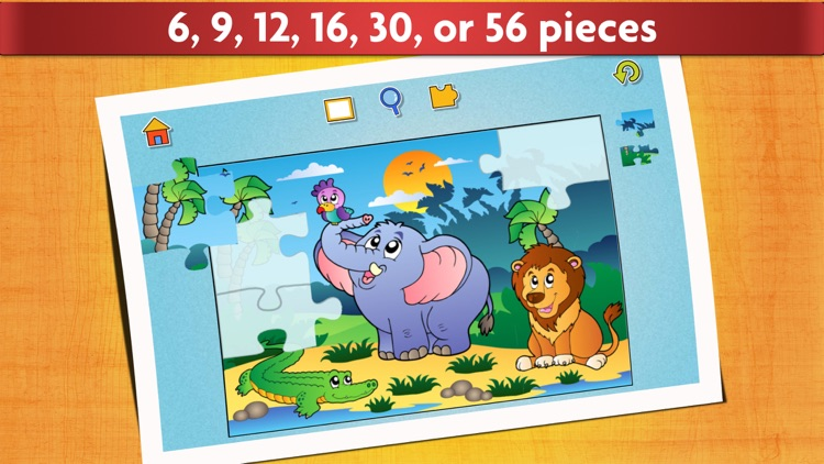 Super Puzzle Kids Jigsaw Game