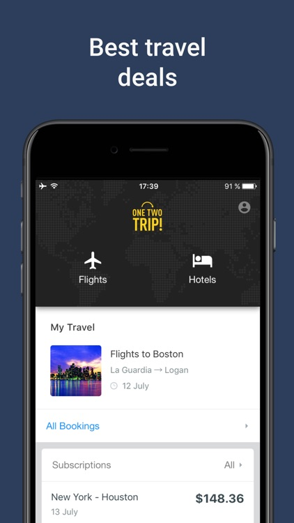 Hotel and Flight Booking App