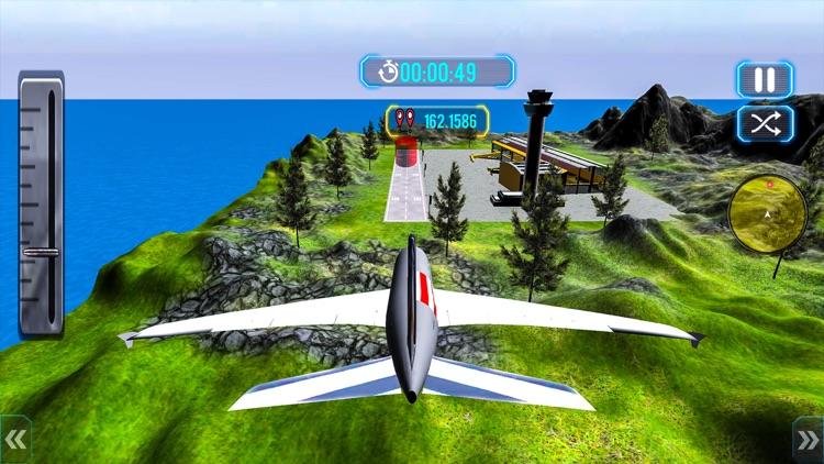Tourist Airplane Flight Sim 3D screenshot-3