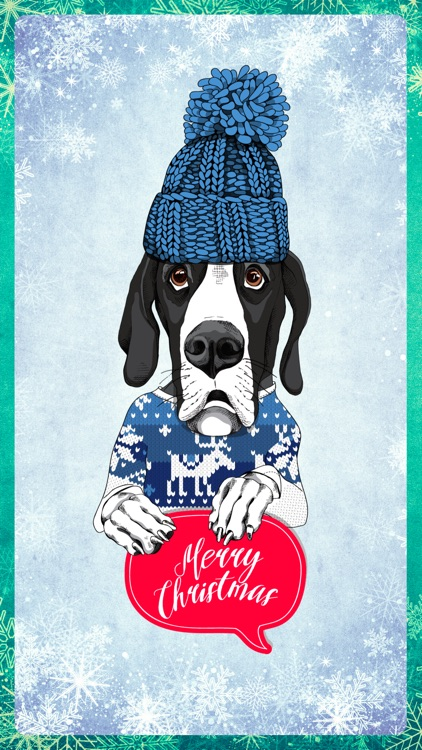 Happy Dog Holiday Cards