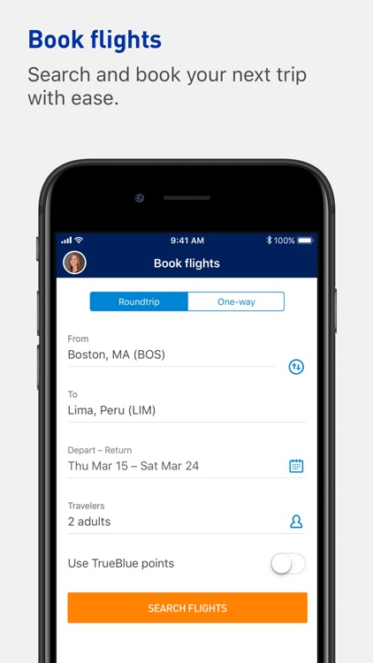JetBlue - Book & manage trips screenshot-5