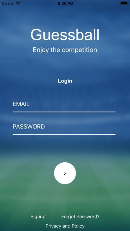 Guessball App