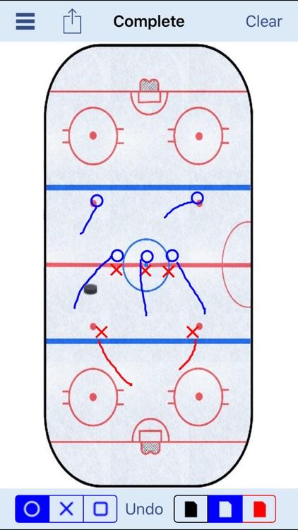 Hockey Strategy Board