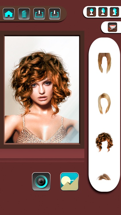 Change your look editor with hairstyles screenshot-4