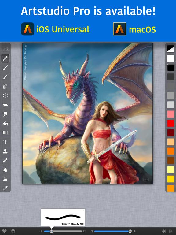 ArtStudio for iPad -Paint&Draw - Screenshot 2