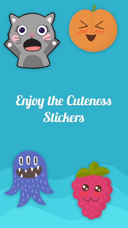 Cuteness Sticker For iMessage