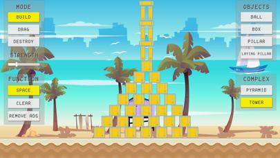 Physics Sandbox Beach screenshot two