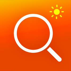 Magnifier with Flash Light app