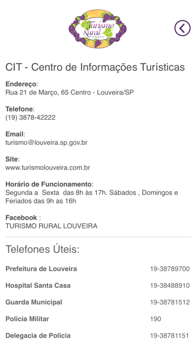 Turismo Louveira screenshot 3
