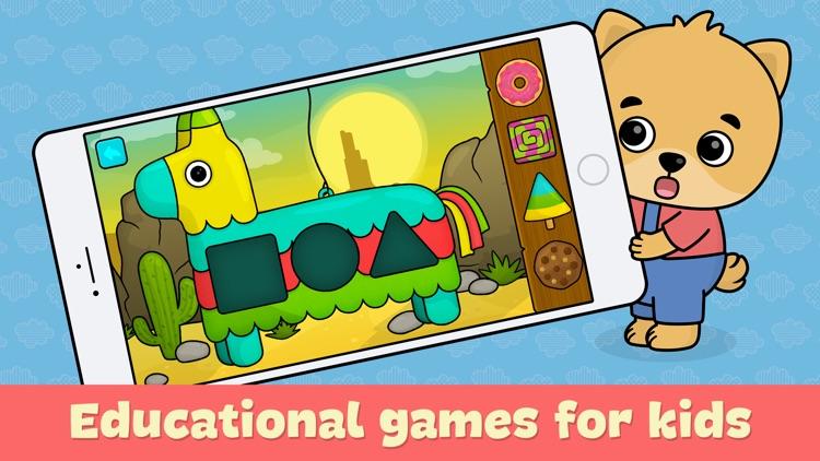 Kindergarten learning games 2+ screenshot-0