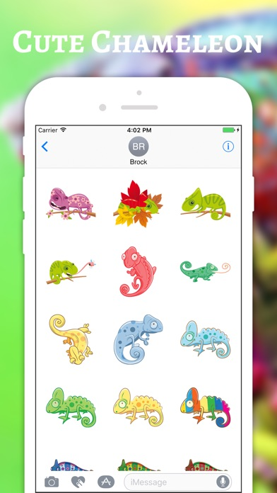 download Chameleon Color Stickers apps 2